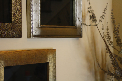 Brass Clad Wood Picture Frame