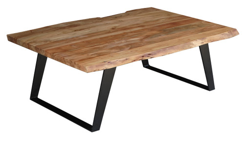 Timbergirl solid wood live edge coffee table