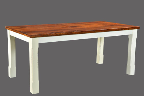 Timbergirl Mysore Farmhouse Chic Dining Table