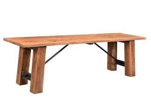 """Timbergirl Angled Acacia wood Bench - 60"""""""