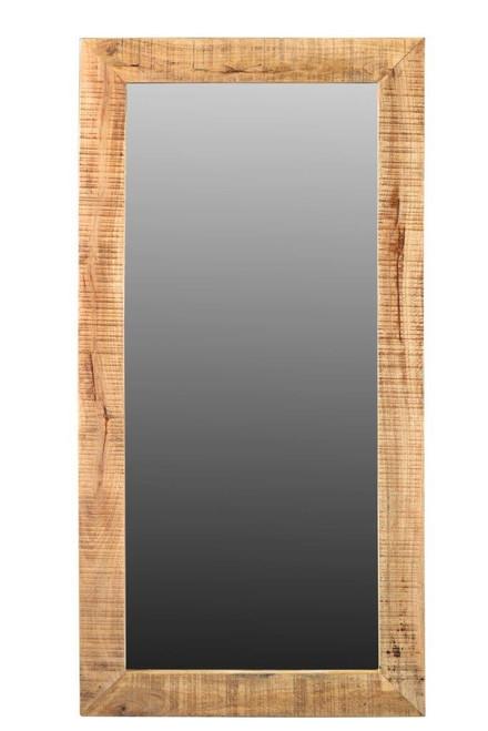 Agra Solid Mango  Wood Mirror