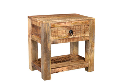 Timbergirl Surat Solid wood Side table