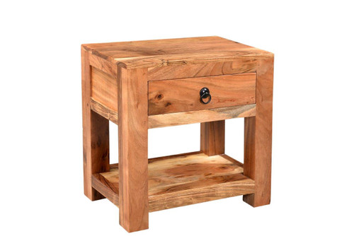Timbergirl Ajmer Solid Wood Side table