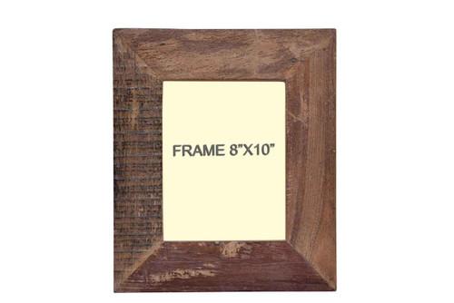 Timbergirl Distressed Wood Photo Frame