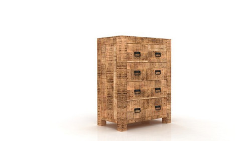 Timbergirl Agra 5 Drawer Chest