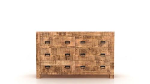 Timbergirl Agra 6 Drawer Dresser