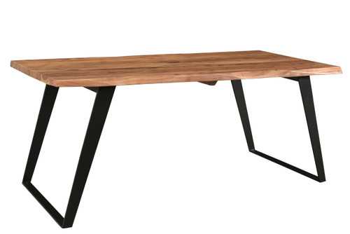 Timbergirl solid wood live edge dining table