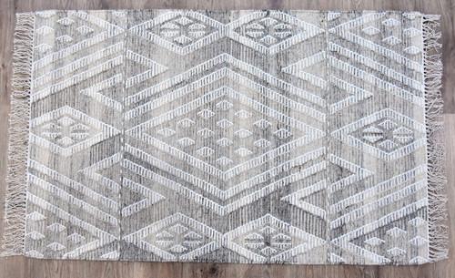 Timbergirl Kilim Sand Wool and Cotton Handmade Rug