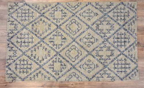 Timbergirl Kilim Craft Grey Wool Handmade Rug