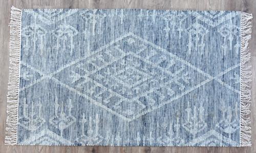 Timbergirl Kilim Kite Grey Wool Handmade Rug