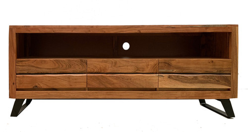 Timbergirl solid acacia wood live edge TV Console