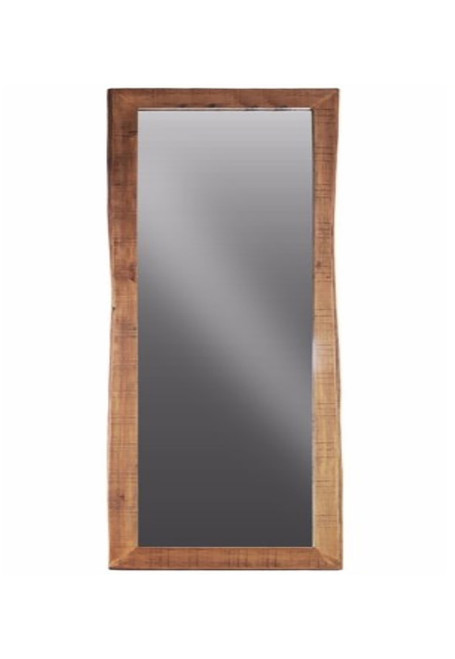 Timbergirl Solid Acacia Wood Live Edge Mirror