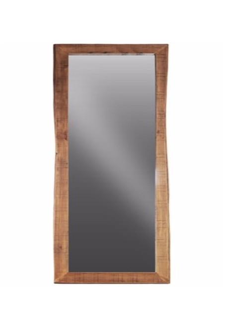 Timbergirl Solid Acacia Wood Live Edge Mirror