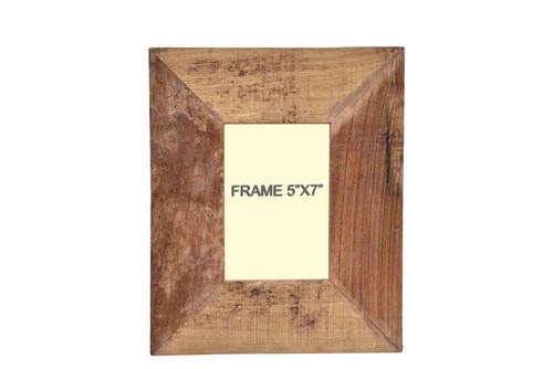 Timbergirl Distressed Wood Photo Frame 5x7