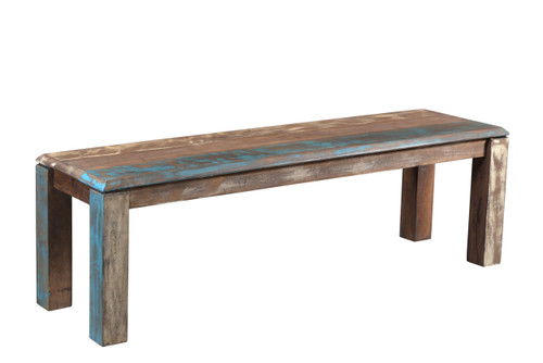 Timbergirl Old Reclaimed Wood Bench