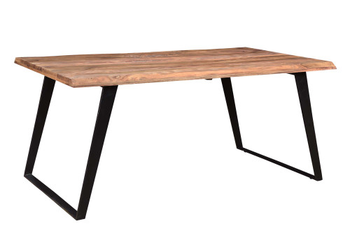 Timbergirl Seesham Wood Live Edge Dining Table