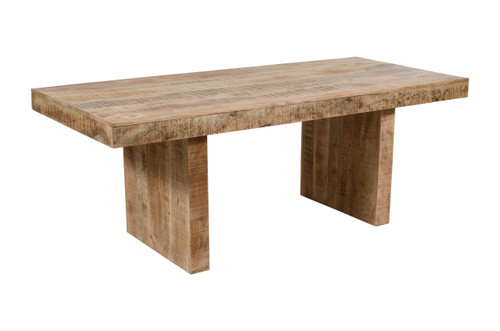 """Timbergirl Solid Mango Wood Dining Table  - 80"""""""