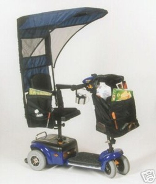 For Scooters and Wheelchairs: Vented Canopy (Diestco C2420)
