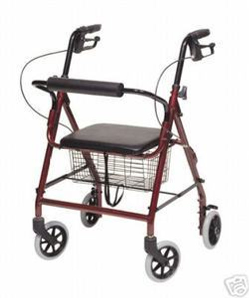 Rollator Walker Walkabout Hemi for Petite or Junior User