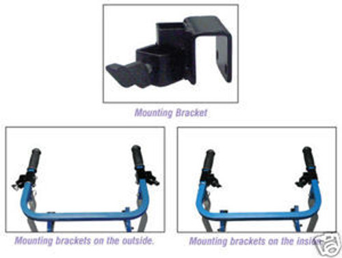 Supplementary Part:  For Safety Rollers & Gait Trainers, Adjustable Forearm Platforms & Mounting Brackets