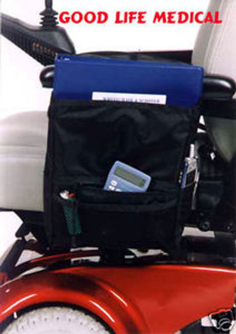 For Scooters and Wheelchairs:   Large Armrest Bag
