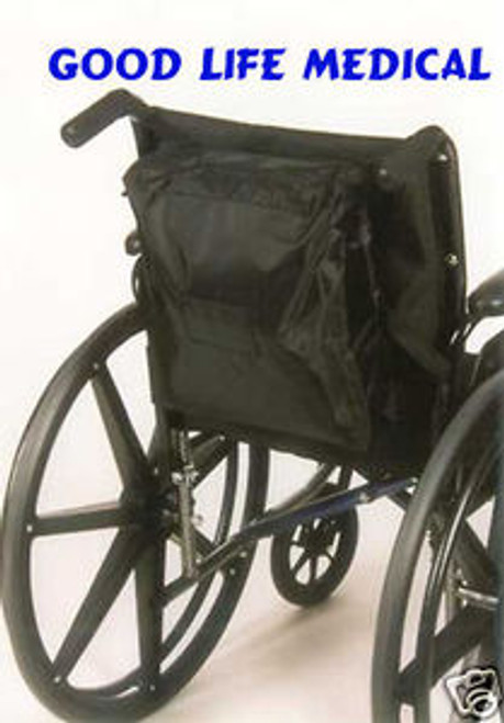 For Scooters and Wheelchairs:  Standard Seatback Bags