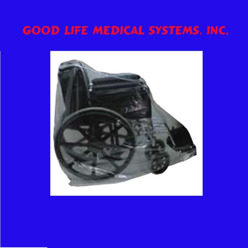 For Wheelchairs:  Pay for 4. Receive 5th for FREE:  Plastic Bag Dust Covers for Wheelchairs & Other Items