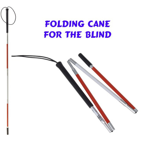 Folding Cane for the Blind
