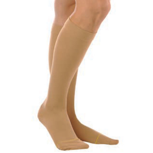 Women's Sheer Knee High, Closed Toe, 20 to 30 mmHg, Firm Compression
