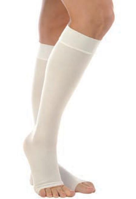 Anti-Embolism Knee High, Open Toe, 18 mmHg