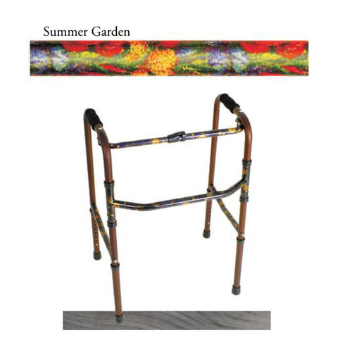 Folding Walker in Summer Garden Design