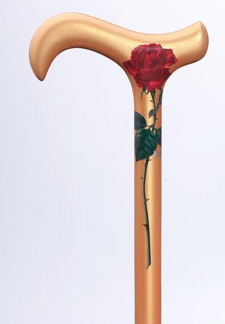 Rose Carbon Fiber Cane