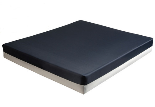 "Foam Wheelchair Cushion, 22"" X 16"" X 3"" or 22"" X 18"" X 3"""