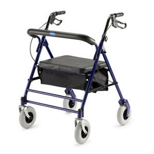 Heavy Duty Rollator Walker, 500 lb. Weight Capacity