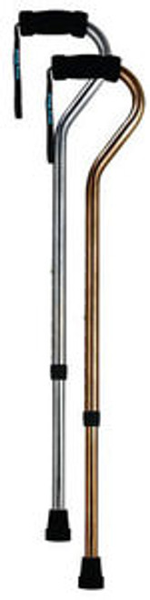 Heavy Duty Stainless Steel Offset Handle Walking Cane