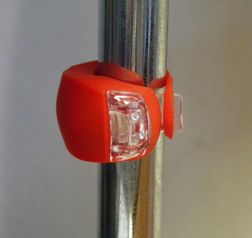 Red LED Clip On Lite Vertical Mount