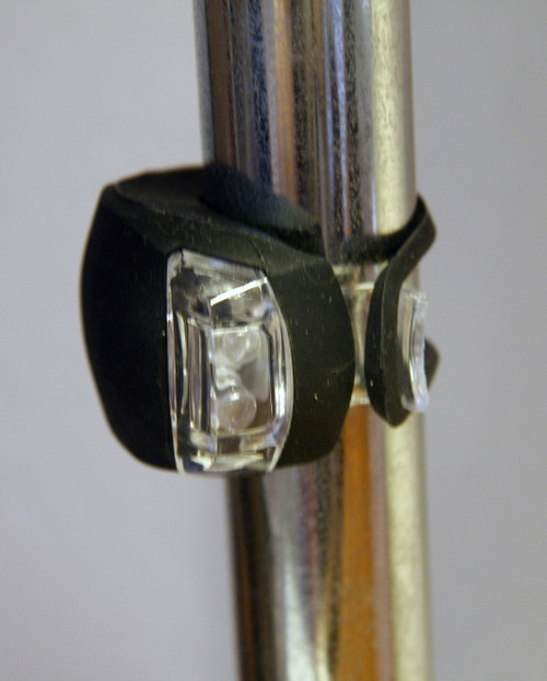 Black LED Clip-On Light Mounted Vertically
