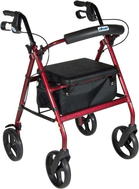 RED Rollator Walker RTL728RD