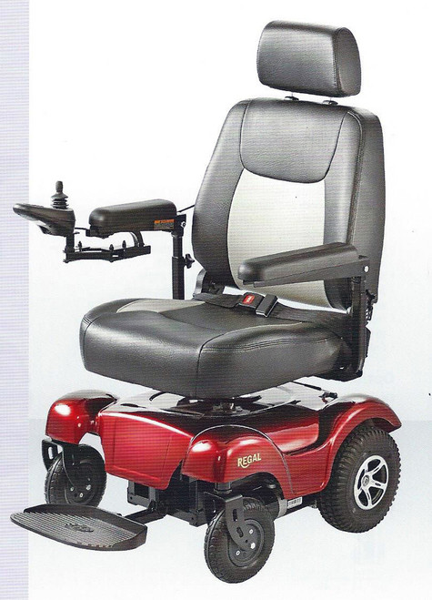 Merits Regal P310 Rear Wheel Drive Powerbase Wheelchair