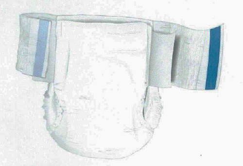 McKesson Incontinent Brief with Mat Body Shape BRSTRMR, 32543100