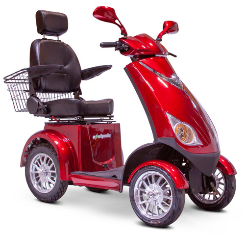 Red 2021 EW-72 scooter