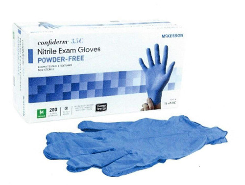 McKesson Confiderm® Nitrile Gloves, 14-6976C, 69761300