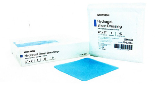 McKesson Hydrogel Dressing, Box of 10, 61-82044