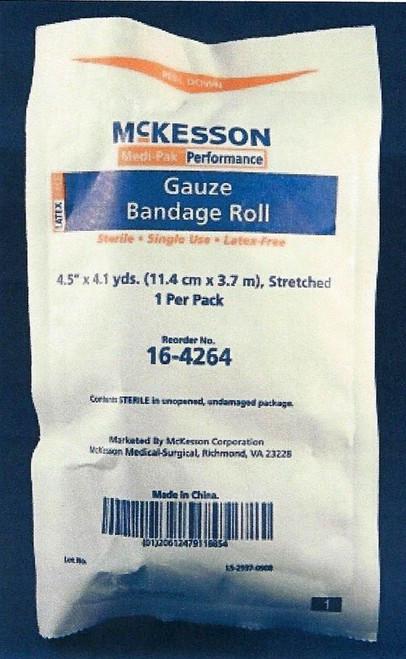 McKesson Conforming Cotton Gauze Bandage Rolls 16-4264