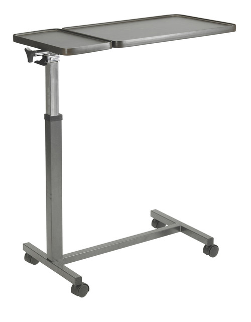 Drive 13068BV Overbed Table with Split Top, One Section Tilts