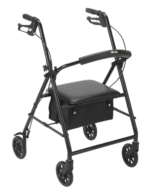 Black R800BK rolling walker