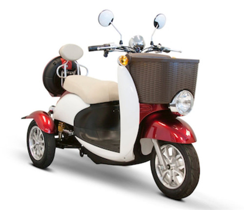 EW-11 Sport Scooter in Red