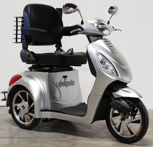 Silver EW-36 Fast Scooter