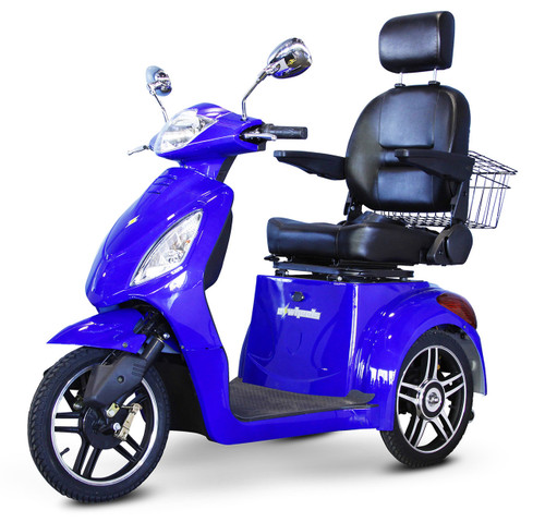 EW-36 standard scooter in Blue