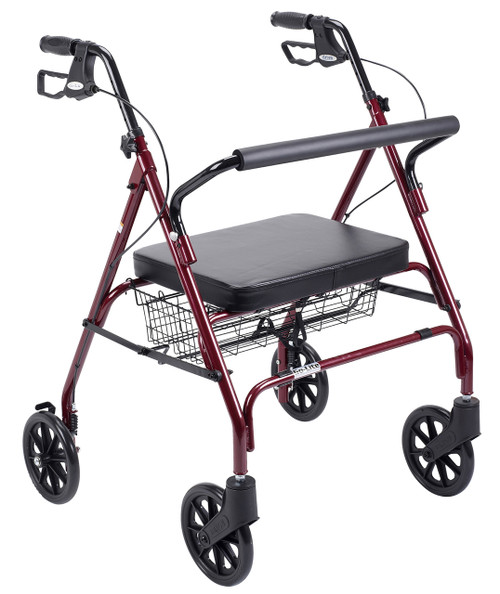 RED Drive 10215RD-1 Heavy Duty Rollator Walker